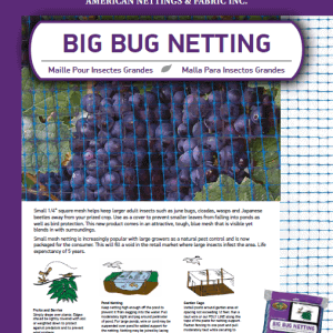 Big Bug Netting