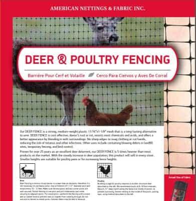 Deer & Poultry Netting