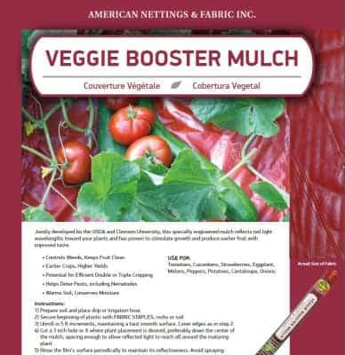 Veggie Booster Mulch