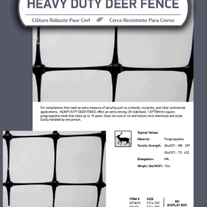 Heavy Duty Deer Fence Catalog