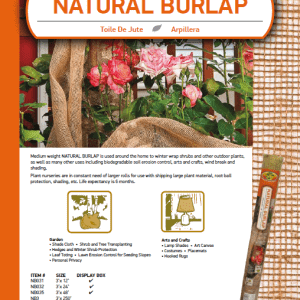 Natural Burlap Catalog